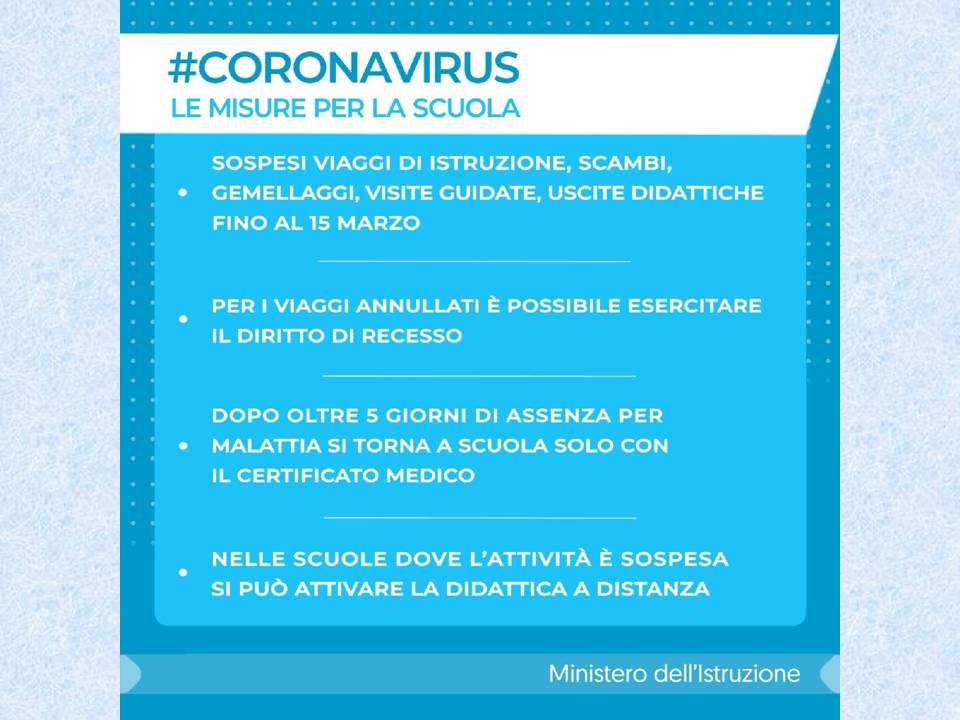 EMERGENZA CORONAVIRUS - COVID 19